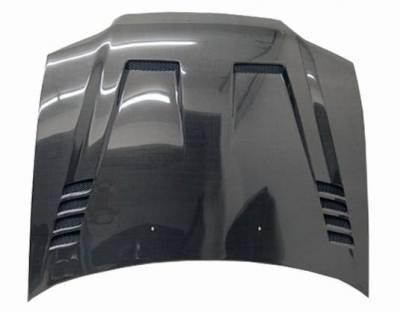 VIS Racing - Carbon Fiber Hood Cyber Style for Honda Civic 2DR 92-95 - Image 3