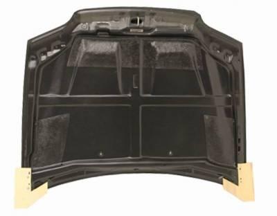 VIS Racing - Carbon Fiber Hood Cyber Style for Honda Civic 2DR 92-95 - Image 4