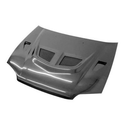 VIS Racing - Carbon Fiber Hood EVO  Style for Honda Civic 2DR 92-95 - Image 1