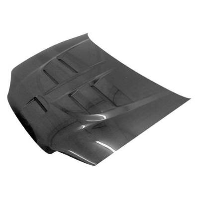 VIS Racing - Carbon Fiber Hood Fuzion Style for Honda Civic 2DR 92-95 - Image 1