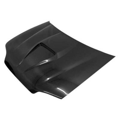 VIS Racing - Carbon Fiber Hood G Force Style for Honda Civic 2DR 92-95 - Image 1