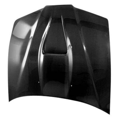 VIS Racing - Carbon Fiber Hood G Force Style for Honda Civic 2DR 92-95 - Image 2