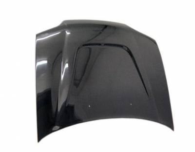 VIS Racing - Carbon Fiber Hood JS Style for Honda Civic 2DR 92-95 - Image 1