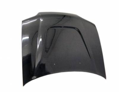 VIS Racing - Carbon Fiber Hood JS Style for Honda Civic 2DR 92-95 - Image 2
