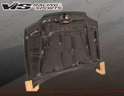 VIS Racing - Carbon Fiber Hood JS Style for Honda Civic 2DR 92-95 - Image 3