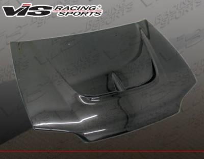 VIS Racing - Carbon Fiber Hood Monster Style for Honda Civic 2DR 92-95 - Image 1
