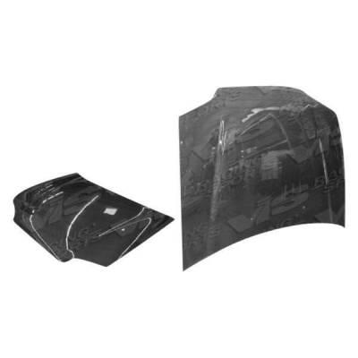 VIS Racing - Carbon Fiber Hood OEM Style for Honda Civic 4DR 92-95 - Image 1