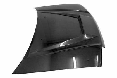 VIS Racing - Carbon Fiber Hood Invader Style for Honda Civic Hatchback 88-91 - Image 1