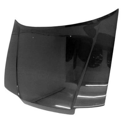 VIS Racing - Carbon Fiber Hood OEM Style for Honda Civic 4DR 88-91 - Image 1
