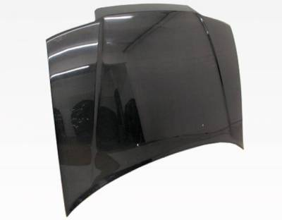 VIS Racing - Carbon Fiber Hood OEM Style for Honda Civic Hatchback 88-91 - Image 3