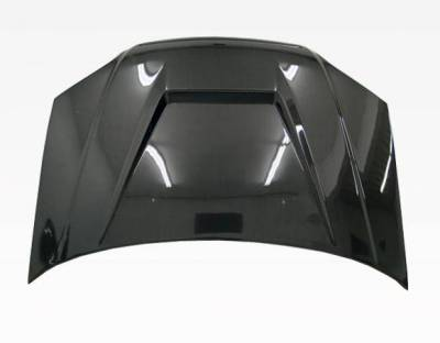 VIS Racing - Carbon Fiber Hood Invader Style for Honda Civic 2DR & 4DR 01-03 - Image 3