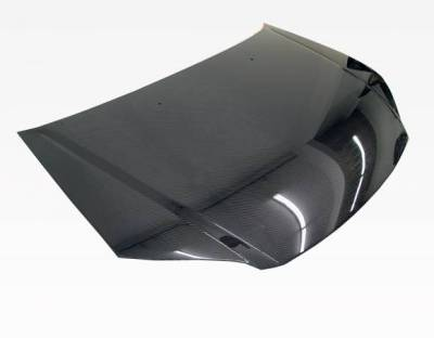 VIS Racing - Carbon Fiber Hood OEM Style for Honda Civic 2DR & 4DR 01-03 - Image 1