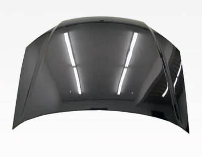 VIS Racing - Carbon Fiber Hood OEM Style for Honda Civic 2DR & 4DR 01-03 - Image 3