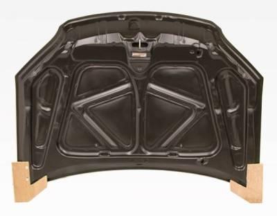 VIS Racing - Carbon Fiber Hood OEM Style for Honda Civic 2DR & 4DR 01-03 - Image 4