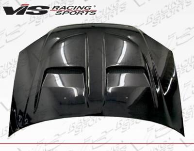 VIS Racing - Carbon Fiber Hood Xtreme GT Style for Honda Civic 2DR & 4DR 01-03 - Image 1