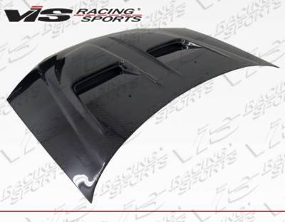 VIS Racing - Carbon Fiber Hood Xtreme GT Style for Honda Civic 2DR & 4DR 01-03 - Image 2