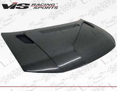 VIS Racing - Carbon Fiber Hood RVS Style for Honda Civic 2DR 12-13 - Image 2