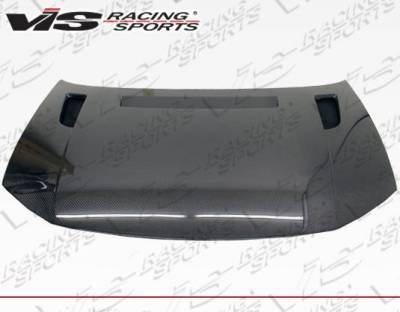 VIS Racing - Carbon Fiber Hood RVS Style for Honda Civic 2DR 12-13 - Image 3