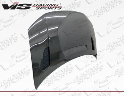 VIS Racing - Carbon Fiber Hood RVS Style for Honda Civic 2DR 12-13 - Image 4