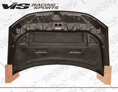 VIS Racing - Carbon Fiber Hood RVS Style for Honda Civic 2DR 12-13 - Image 5