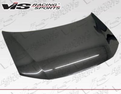 VIS Racing - Carbon Fiber Hood OEM Style for Honda Civic 4DR 12-12 - Image 1