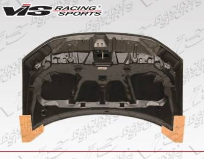 VIS Racing - Carbon Fiber Hood OEM Style for Honda Civic 4DR 12-12 - Image 4