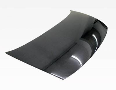 VIS Racing - Carbon Fiber Hood OEM Style for Honda Civic 2DR 06-11 - Image 2