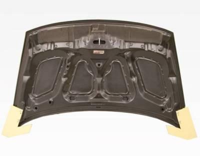 VIS Racing - Carbon Fiber Hood OEM Style for Honda Civic 2DR 06-11 - Image 4