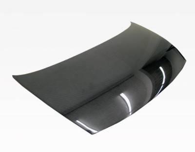 VIS Racing - Carbon Fiber Hood OEM Style for Honda Civic 4DR 06-11 - Image 2