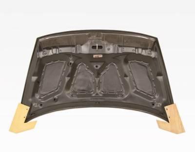 VIS Racing - Carbon Fiber Hood OEM Style for Honda Civic 4DR 06-11 - Image 4