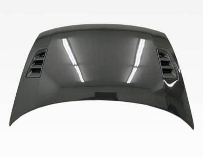 VIS Racing - Carbon Fiber Hood RR Style for Honda Civic 2DR 06-11 - Image 3