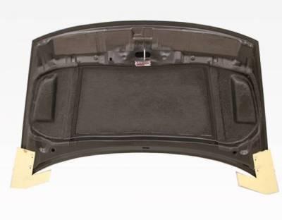 VIS Racing - Carbon Fiber Hood RR Style for Honda Civic 2DR 06-11 - Image 4