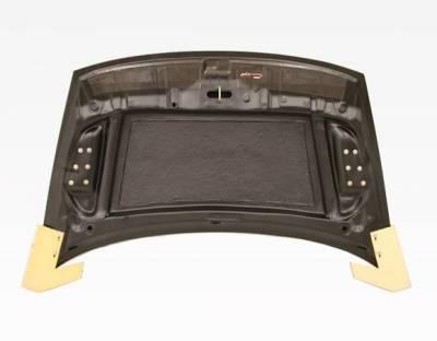 VIS Racing - Carbon Fiber Hood RR Style for Honda Civic 4DR 06-11 - Image 3