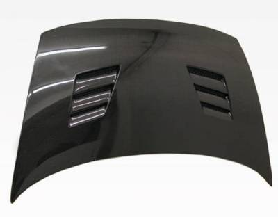 VIS Racing - Carbon Fiber Hood Techno R Style for Honda Civic 2DR 06-11 - Image 3