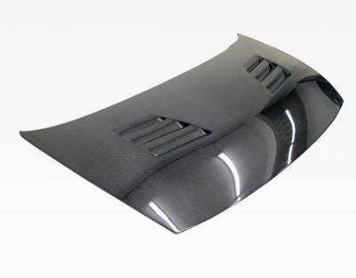 VIS Racing - Carbon Fiber Hood Techno R Style for Honda Civic 4DR 06-11 - Image 1