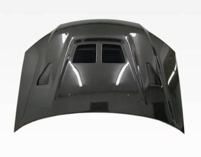 VIS Racing - Carbon Fiber Hood EVO  Style for Honda Civic 2DR & 4DR 04-05 - Image 3