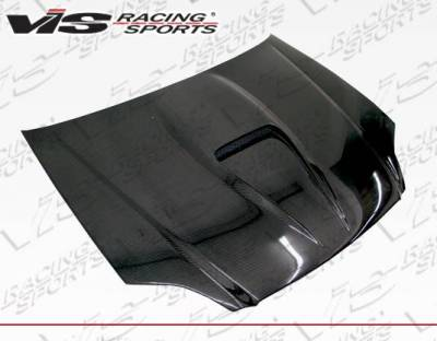VIS Racing - Carbon Fiber Hood G Force Style for Honda Civic 2DR 99-00 - Image 1