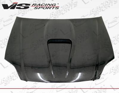 VIS Racing - Carbon Fiber Hood G Force Style for Honda Civic 2DR 99-00 - Image 3
