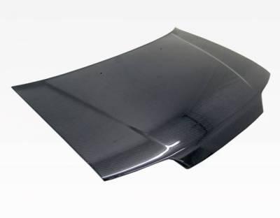 VIS Racing - Carbon Fiber Hood SIR Style for Honda Civic (JDM) Hatchback 88-91 - Image 2