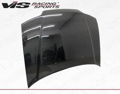 VIS Racing - Carbon Fiber Hood SIR Style for Honda Civic (JDM) Hatchback 88-91 - Image 3