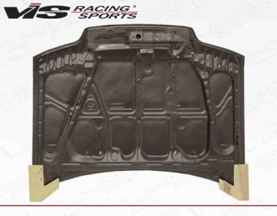 VIS Racing - Carbon Fiber Hood SIR Style for Honda Civic (JDM) Hatchback 88-91 - Image 4