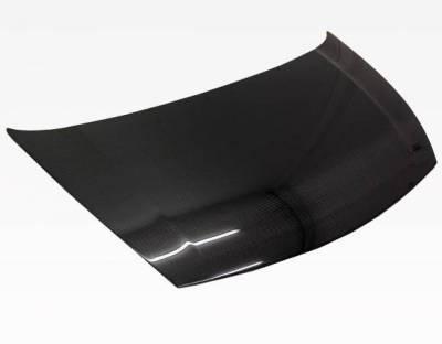 VIS Racing - Carbon Fiber Hood OEM Style for Honda Civic (JDM) 4DR 06-11 - Image 1