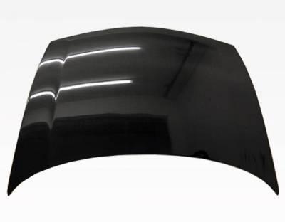 VIS Racing - Carbon Fiber Hood OEM Style for Honda Civic (JDM) 4DR 06-11 - Image 2