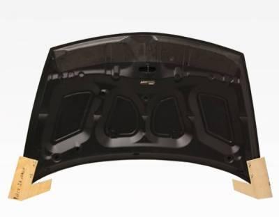 VIS Racing - Carbon Fiber Hood OEM Style for Honda Civic (JDM) 4DR 06-11 - Image 3