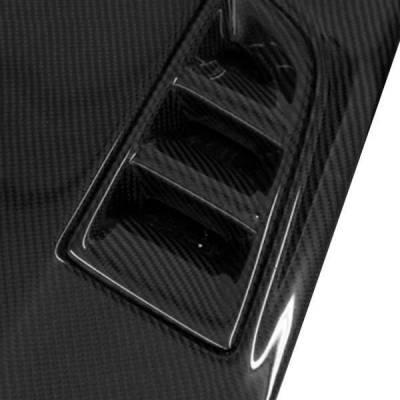 VIS Racing - Carbon Fiber Hood RR Style for Honda Civic (JDM) 4DR 06-11 - Image 2