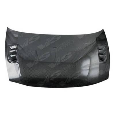 VIS Racing - Carbon Fiber Hood RR Style for Honda Civic (JDM) 4DR 06-11 - Image 4