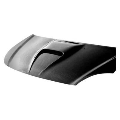 VIS Racing - Carbon Fiber Hood G Force Style for Honda Civic (Si) Hatchback 02-05 - Image 2