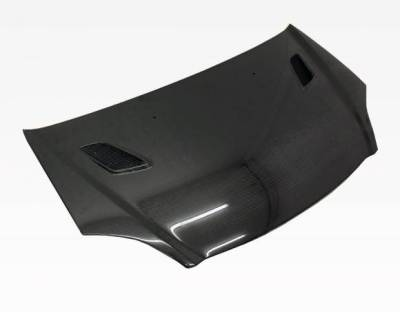 VIS Racing - Carbon Fiber Hood Techno R Style for Honda Civic (Si) Hatchback 02-05 - Image 2