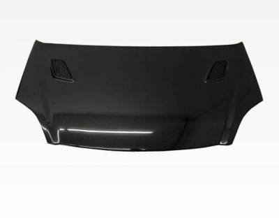 VIS Racing - Carbon Fiber Hood Techno R Style for Honda Civic (Si) Hatchback 02-05 - Image 3
