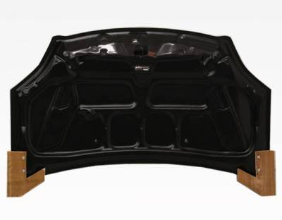 VIS Racing - Carbon Fiber Hood Techno R Style for Honda Civic (Si) Hatchback 02-05 - Image 4